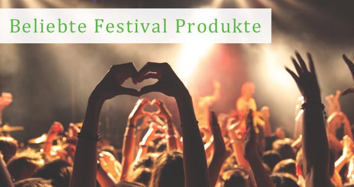 Beliebte Festival Produkte