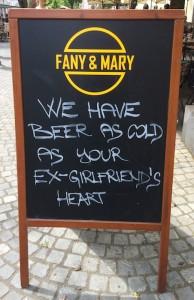 Festival Bier kühlen